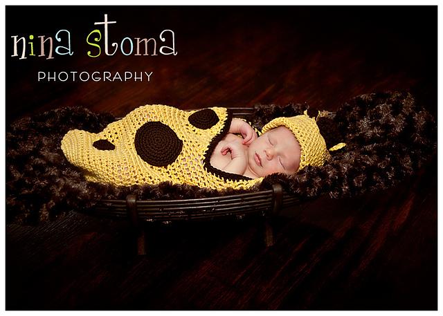 Giraffe Baby Layette. ©Nina Stoma Photography & CherrySprinkle.com. DO NOT COPY