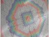 Rainbow Afghan. ©CherrySprinkle.com. DO NOT COPY