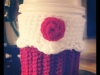 Red Velvet Cupcake Cup Holder. ©CherrySprinkle.com. DO NOT COPY