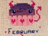 February. ©CherrySprinkle.com. DO NOT COPY