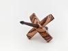 Threadsthrutime Tiny Turkish Spindle Zebrawood (14g)
